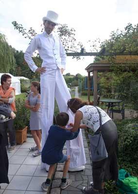 steltenloper bruiloft